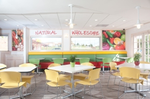 Our final design came out just the way we wanted - Fresh and charming.  --Fresh Market Cafe""