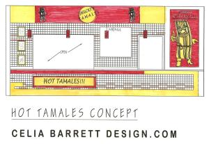 CONCEPT FOR Mary Jo's Hot Tamales.