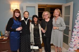 Penny Tant, Judy Robinson, Monica Harrigill, Celia Barrett, Karen Gilder